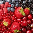 Stock Photo: Various berries background