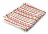 Striped cotton napkin — Stock Photo