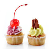 Two cupcakes — Stock Photo