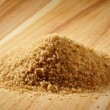 Brown sugar heap — Foto de Stock