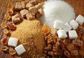 şeker türleri — Stok fotoğraf