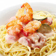 Spaghetti with Seafood — Stock Photo #34496485