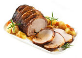 Roasted pork — Stock Photo