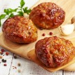 Juicy fried meat cutlets — Stock Photo #38359409