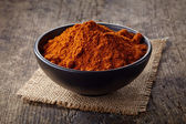 Red hot chili pepper powder — Stock Photo