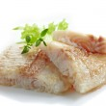 Fried pangasius fish fillet pieces — Stock Photo #49360833