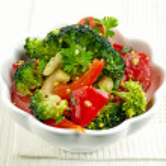Bowl of vegetable salad — Stock Photo #49544369