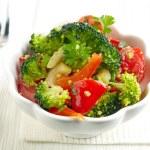 Bowl of vegetable salad — Stock Photo #49544373