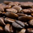 Stock Video: Coffee beans, rotate, macro