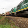Stock Video: Cargo train