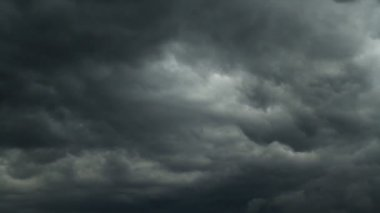 Rain clouds, timelapse — Stock Video