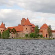 Stock Video: Castle of Trakai, Lithuania