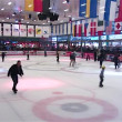 Stock Video: Skate on a skating rink
