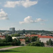 Tauras hill lokout, Vilnius, Lithuania — Stock Video