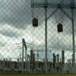 Stock Video: Electrical substation, timelapse