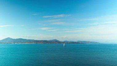 Riviera francesa, time-lapse — Vídeo de Stock