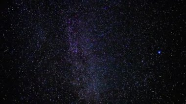Cielo estrellado, time-lapse — Vídeo de Stock