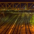 Stock Video: Train Station, timelapse