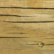 Cracks on a wooden plank - Stock Photo
