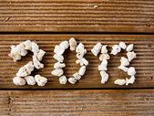 Welcoming 2013. Happy new year — Stock Photo