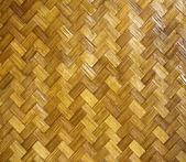 Esteira de palha tradicional — Fotografia Stock