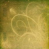 ретро цветочный фон — Стоковое фото