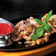 BBQ. filetto di manzo arrosto — Foto Stock