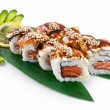 Sushi Canada isolated on white background — Stock Photo