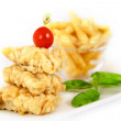 Fich and Chips — Stock Photo