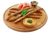 Assorted sausages — Stock Photo