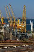 Porto marítimo de carga — Fotografia Stock