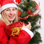 Christmas woman — Stock Photo #1272120