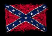 Bandera de la confederación nacional de humo — Foto de Stock
