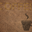 "Embroidered text ""COFFEE"" — Stock Photo #22759052"