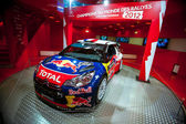Racing car Sebastien Loeb — Стоковое фото