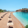 Luxury beach in Montenegro — Stock Photo #27263711