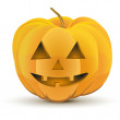 Icon Halloween pumpkin holiday — Stock Photo #33776543