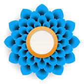 Beautiful paper flower — Stock Photo