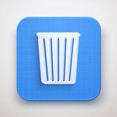 Trash Mail Icon Vector illustration — 图库矢量图片