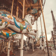 Vintage carousel in Paris — Stock Photo