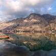 Bay of Kotor, Montenegro. Boka kotorska. — Stock Photo