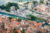 Old town Kotor, Montenegro. Boka kotorska. — Stock Photo