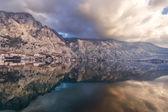 Bay of Kotor, Montenegro. Boka kotorska. — Stock Photo