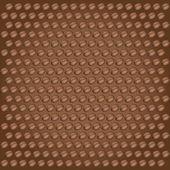 Coffee bean vector background — Stock Vector