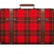 Постер, плакат: Classic vintage luggage suitcase for travel