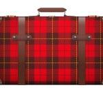 Постер, плакат: Classic vintage luggage suitcase for travel