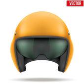 Aaircraft marshall helmet. Vector. — Stock Vector