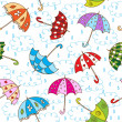Umbrellas — Stock Vector