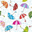 Stock Vector: Umbrellas