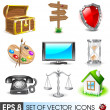 Vector icons — Stock Vector #16072861